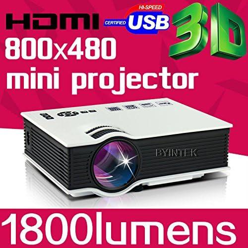 MU Byintek Mini The Best Full HD 1080P de negocios portátil USB de ...