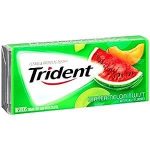 Trident Sugar Free Gum (Watermelon Twist, 18-Piece, 12-Pack)