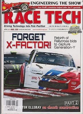 RACE TECH UK MAGAZINE April 2013, Driving Technology Into Pole - Raymond Spectacles