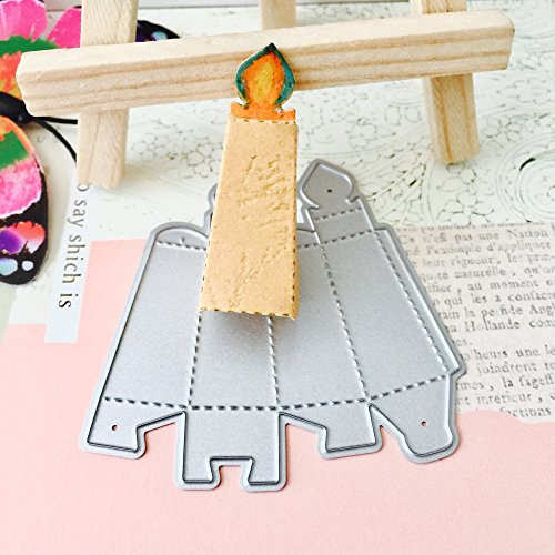 - MOMKER New Embossed Handbag Embossing Kit Tin Heat Metal Cutting Dies Stencils DIY Scrapbooking Album Paper Card (A)
