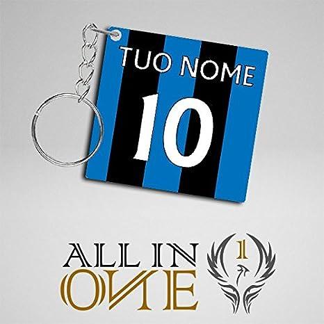Llavero Camisetas Camiseta con il Tuo Nombre Atalanta ...