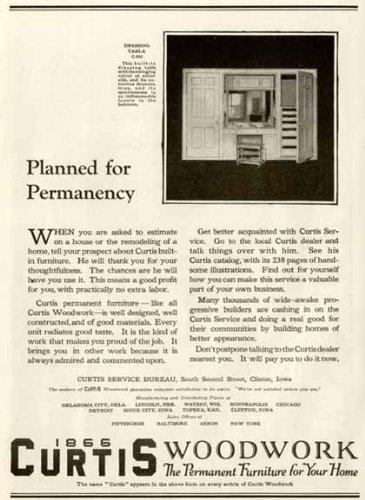 Fenestra Windows (DETROIT'S ANCHOR PRESS IN 1921 FENESTRA WINDOW WALLS AD Original Paper Ephemera Authentic Vintage Print Magazine Ad / Article)