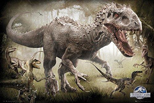 Jurassic World Raptors Poster