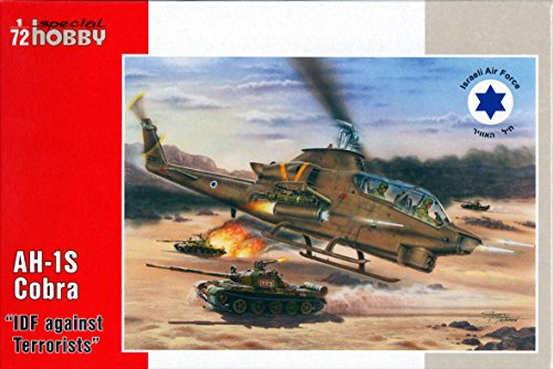 Special Hobby AH-1S Cobra 'IDF Against Terrorist' Helicopter Kit