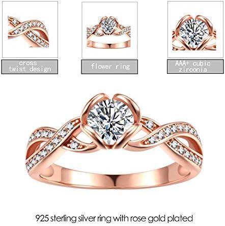 Schöner Ring aus 925 Sterling Silber Schlicht Frauen Elegant Gebürstet #1