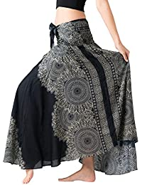 Women's Long Hippie Bohemian Skirt Gypsy Dress Boho...