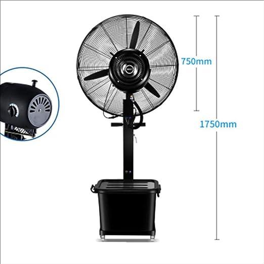 Aire acondicionado móvil XIAOYAN Ventilador de Agua Comercial Ventilador de pulverización Industrial Ventilador de humidificación de Agua Ventilador de Niebla (Tamaño : Ordinary Section -75cm-350w): Amazon.es: Hogar