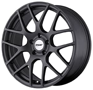 "TSW Alloy Wheels Nurburgring Matte Gunmetal Wheel (18x10.5""/5x114.3mm)"