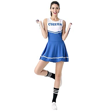 Richdeer Cheerleader Kostuem Uniform Cheerleading Cheer Leader Mit 2