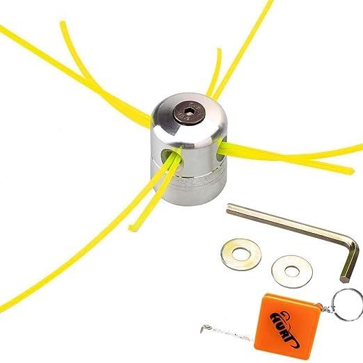 Cabezal de aluminio para hilo de máquina desbrozadora Huri ...