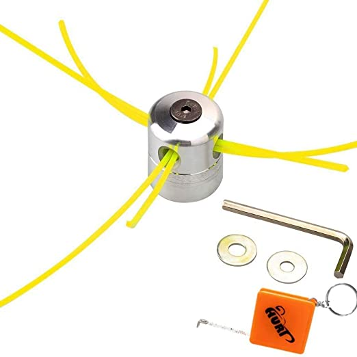 Cabezal de aluminio para hilo de máquina desbrozadora Huri, bobina ...