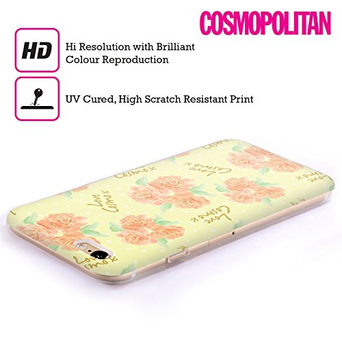 Official Cosmopolitan Roses 2 Love Cosmo Soft Gel Case for Apple iPhone 6 Plus / 6s Plus