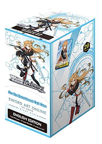 Weiss Schwarz Sword Art Online The Movie Ordinal Scale English Booster Box - 20 packs