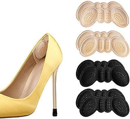 Anti-Slip Granules Heel Grips Liner