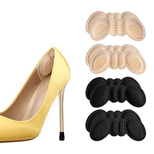 Anti-Slip Granules Heel Grips Liner Insert for Shoes Too Big,Shoe Filler Improved Shoe Fit and Comfort,Prevent Blisters…