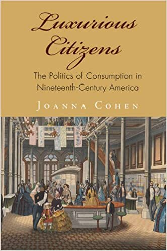 Luxurious Citizens: The Politics of Consumption in Nineteenth-Century America (America in the Nineteenth Century)