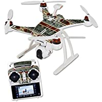 Skin For Blade Chroma Quadcopter – Cabin Stripes | MightySkins Protective, Durable, and Unique Vinyl Decal wrap cover | Easy To Apply, Remove, and Change Styles | Made in the USA