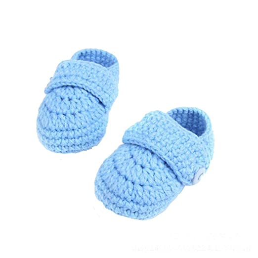 be7a705a0 Amazon.com  New Hot Infant Baby Boys Girls Crib Crochet Casual Baby ...
