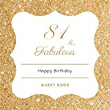 81 & Fabulous: Birthday Celebration Message