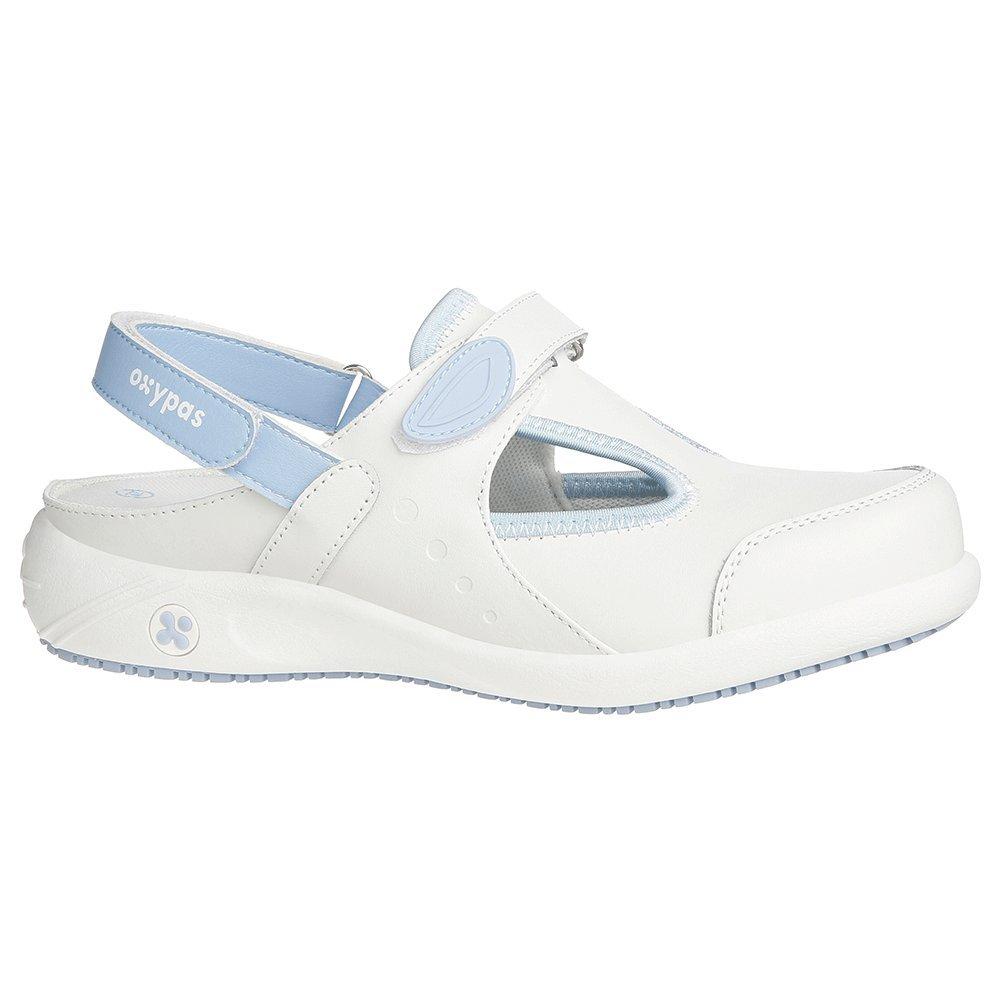 Oxypas Move Carin Slip-resistant, Antistatic Nursing Shoes, White (Lbl) , 5.5 UK (EU: 39)