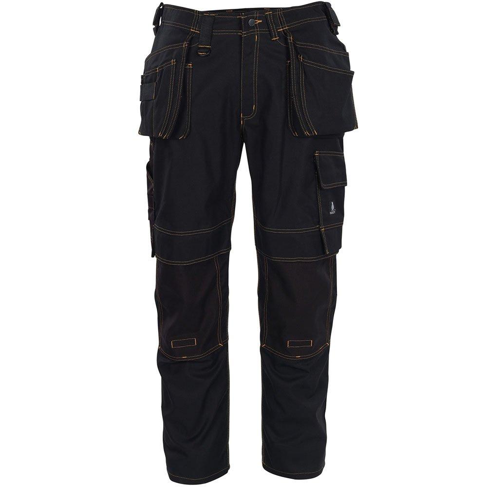 Mascot 06231-010-09-82C46''Almada'' Craftsmen's Trousers, L82cm/C46, Black