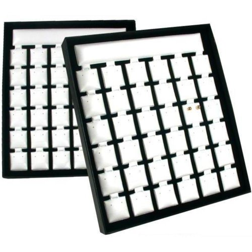 FindingKing 72 Earring Card Pads Showcase Display Jewelry Parts