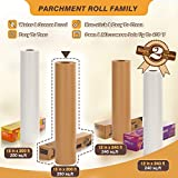 Unbleanched Parchment Paper for Baking, 15 in x 200