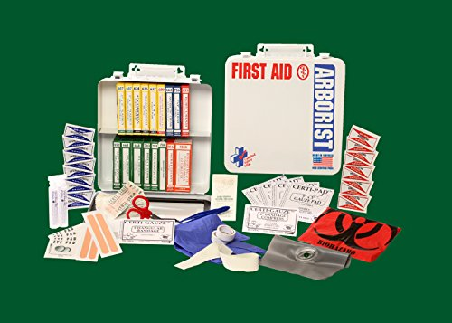 Certified Safety K612-017 24PW ANSI Arborist First Aid Kit in Poly White