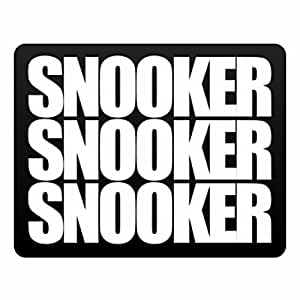 Eddany Snooker three words Plastic Acrylic