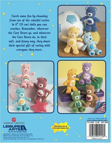 Teddy bear Amigurumi Crochet Care Bears, bear PNG clipart | free ... | 500x388