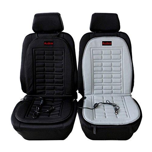 AUDEW Universal 12V Heated Car Seat Cushion Warmer Cover
