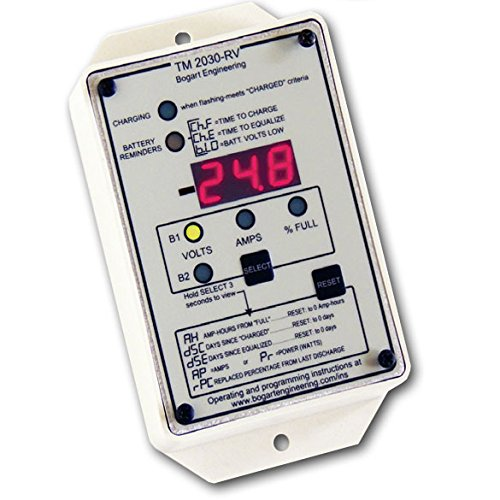 TriMetric TM-2030-RV Battery System Monitor by Bogart Engineering