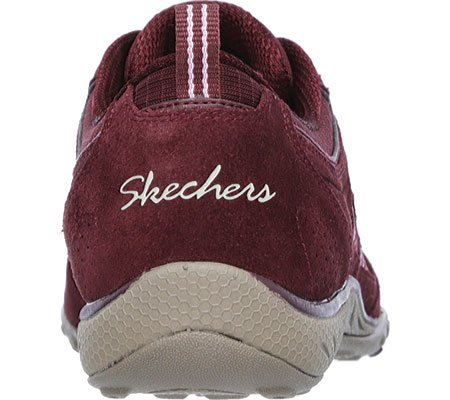 SKECHERS - Breathe Easy GOOD LUCK 22544 - burgundy