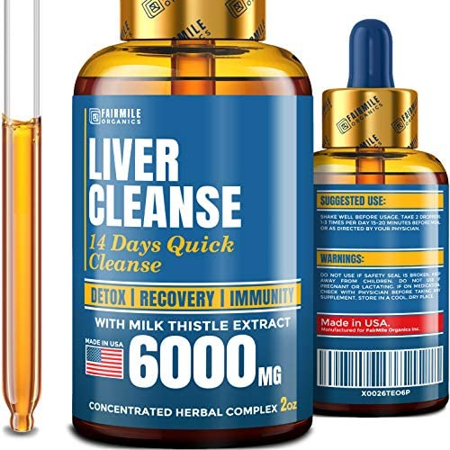 Liver Cleanse 6000 Milk Thistle product image