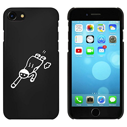 Noir 'Super-héros Volant' étui / housse pour iPhone 7 (MC00088320)