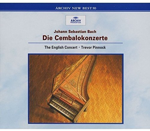 CD : Bach - Pinnock, Trevor - Bach: Harpsichord Concert (Japan - Import)