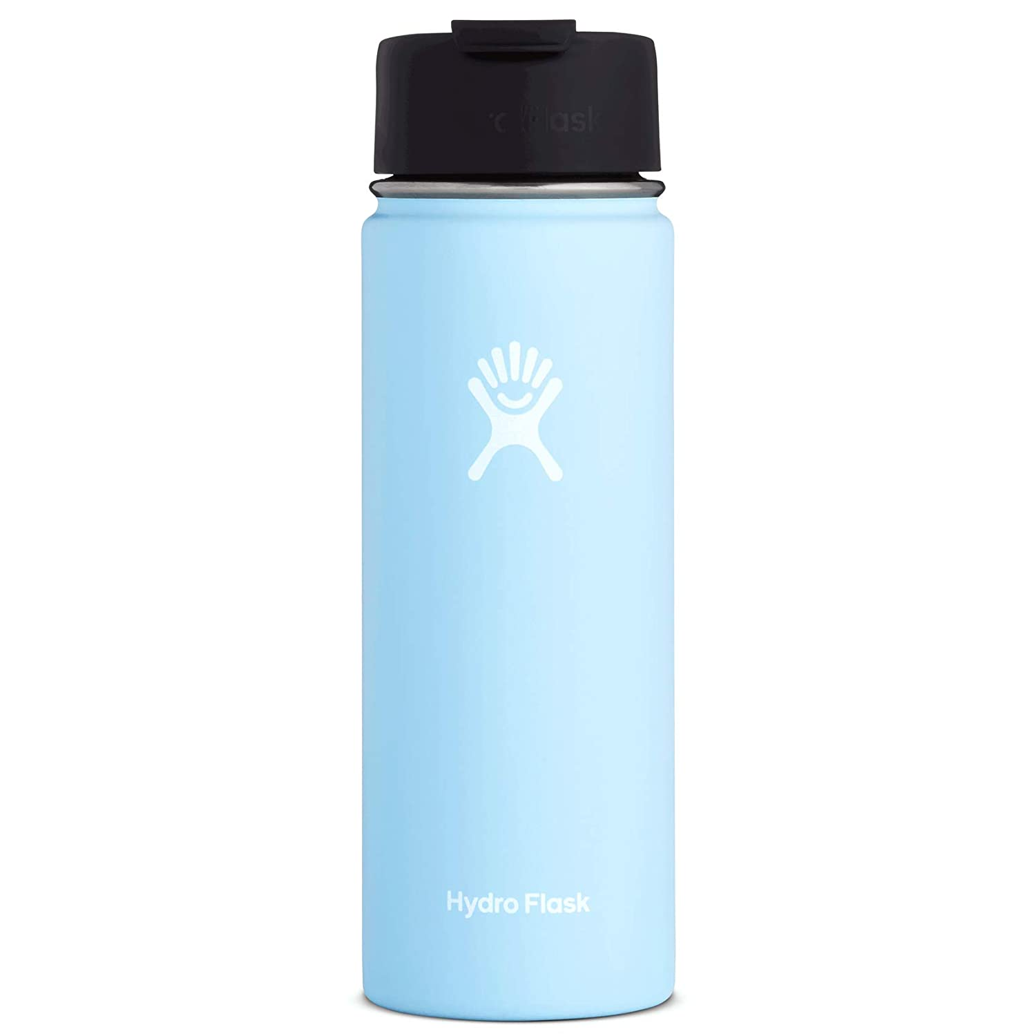 Hydro Flask Travel Coffee Flask | Stainless Steel & Vacuum Insulated | Wide Mouth with Hydro Flip Cap | Multiple Sizes & Colors
