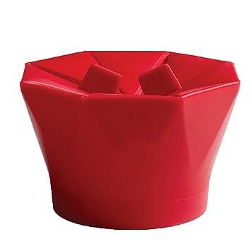 SZTARA Creative plegable palomitas cubo DIY silicona para el microondas palomitas recipiente: Amazon.es: Hogar