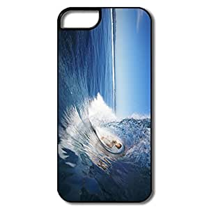 Durable Female Surfer Extreme Sports Plastic Case Cover For IPhone 5/5s