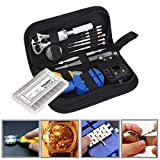 399pcs Watch Repair Tools Kit, Watchmaker Back Case Remover Opener Pin Spring Bar