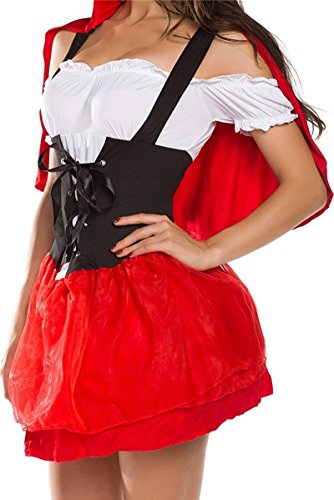 Plus Size French Maid Costume Uk (YNChiffonier Fashion Womens French Maid Fancy Costume Dress Maid-12XL)