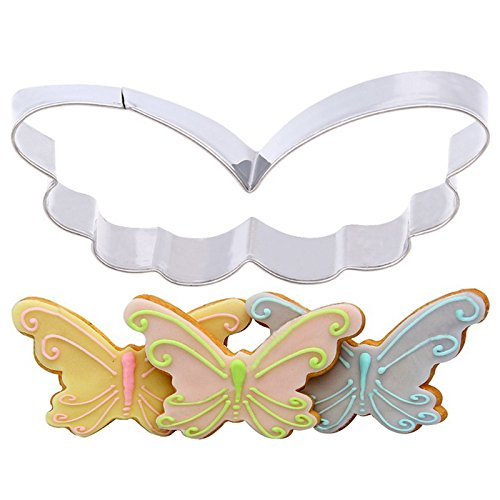 JD Million shop 1pcs Butterfly Cute Cookie Cutters Cortador De Biscoito Metal Cake Cookie Cutters Decoration Tools DIY Cookie Mold Holiday Gift GF321