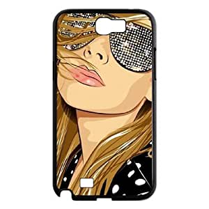 GGMMXO Sexy Girls 6 Phone Case For Samsung Galaxy Note 2 N7100 [Pattern-4]