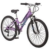 """Mongoose Mongoose Kipawa Mountain Bike 24"""" Wheel Size Age 8+, Orange"""