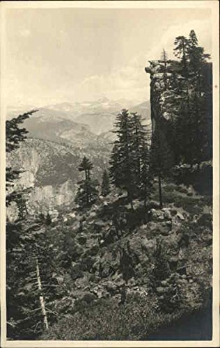 View In the Sierra Nevada Mountains Landscapes Original Vintage Postcard from CardCow Vintage Postcards