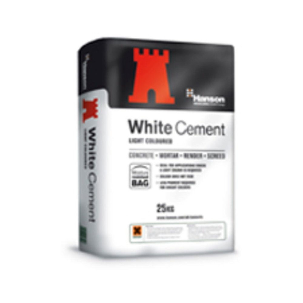Hanson Portland White Cement 25kg