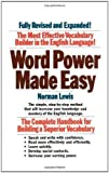 word power made easy norman - Word Power Made Easy Expanded and Complet Edition by Lewis, Norman published by Simon & Schuster (1994)