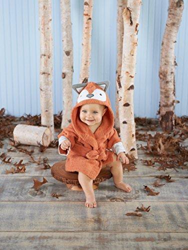 Baby Aspen Rub-A-Dub Hooded Spa Robe, Fox in The Tub