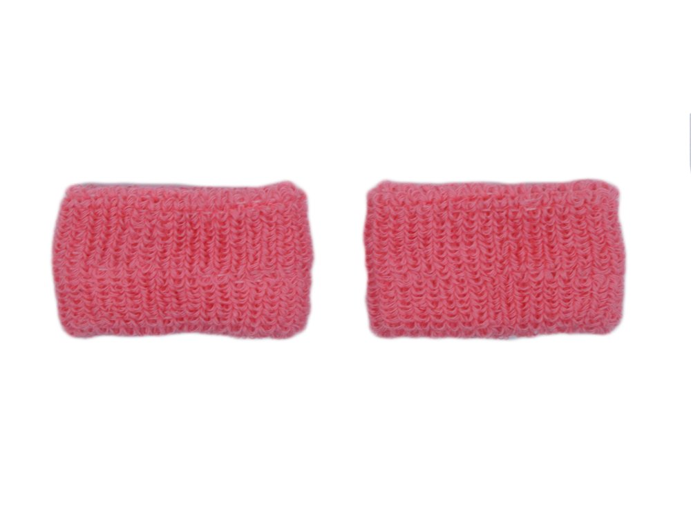 COUVER - Youth - Kids - Children - Pink Breast Cancer Awareness Sweat Affordable Wirstband - Pink - Kids - 1 pair