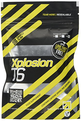 Simply Simple Xplosion T6 Fat Burner | Strong Slimming Pills | Xplosive T6...